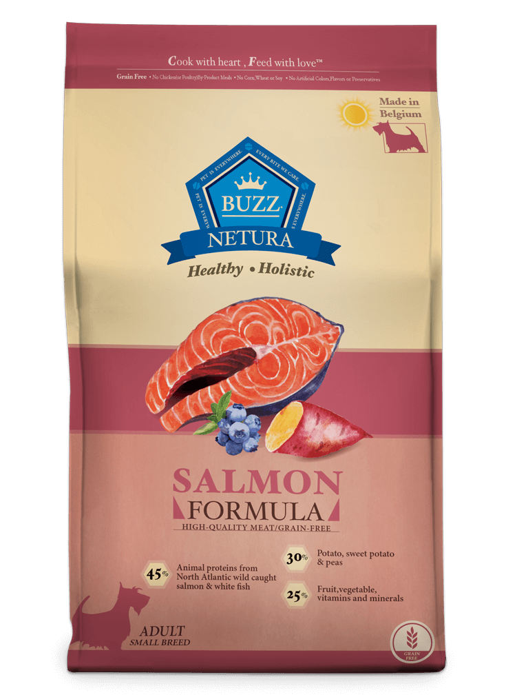 Buzz Netura – Salmon Formula for Small Breed