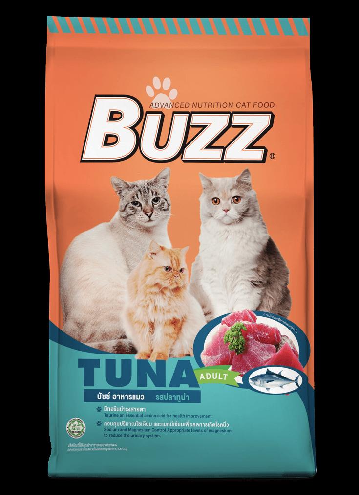 Buzz Balance Nutrition – Tuna Flavour (อาหารแมวรสปลาทูน่า)